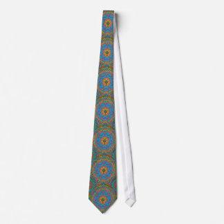 Lazo cruzado céltico 1 de la mandala del arco iris corbata personalizada