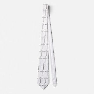 Lazo cruzado cristiano corbatas personalizadas