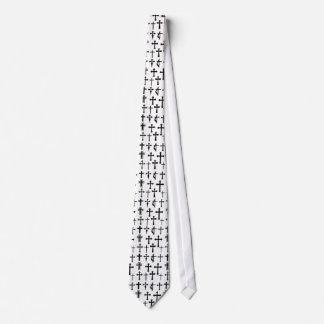 Lazo cruzado múltiple corbata personalizada