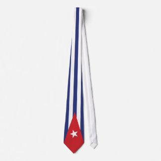 Lazo cubano de la bandera corbata