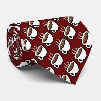 lazo de 8 bits del café corbata personalizada