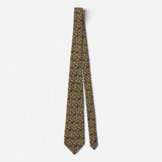 Lazo de Belces del oro del tintineo hasta el final Corbata Personalizada