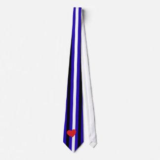 Lazo de cuero del orgullo corbata personalizada