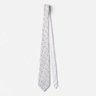 lazo de dibujo del dressage corbata personalizada