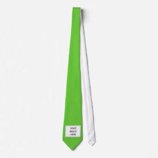 Lazo de encargo de la sola imagen corbata personalizada