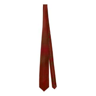 Lazo de encargo del bloque rojo corbata fina