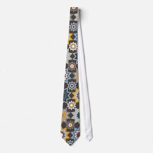 lazo de encargo del modelo de estrellas de Marrake Corbata Personalizada