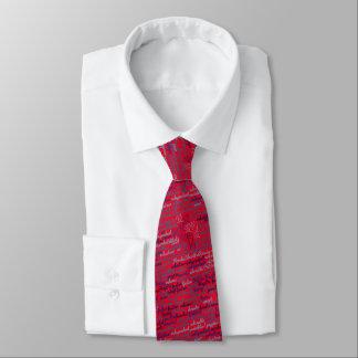 Lazo de FSPR - rojo Corbata Personalizada