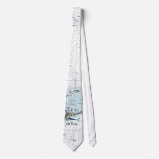 Lazo de la aguja de la carta de NOAA Corbata Personalizada