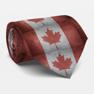 Lazo de la apariencia vintage de la hoja de arce corbata