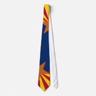 Lazo de la bandera de Arizona Corbata