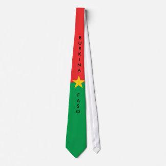 Lazo de la bandera de Burkina Faso del Corbata