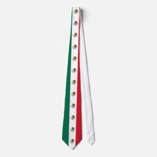 Lazo de la bandera mexicana corbata personalizada