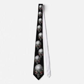Lazo de la cabeza del Chupacabra (extranjero) Corbatas Personalizadas