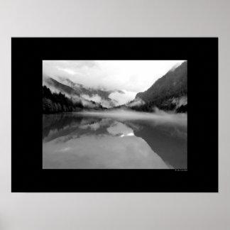 Lazo de la cascada - lago impresiones