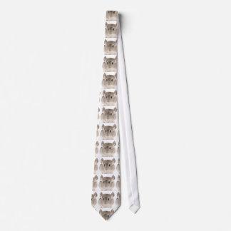 Lazo de la chinchilla corbatas personalizadas