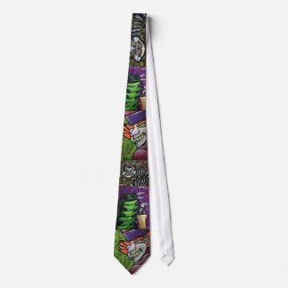 Lazo de la colección del país de las maravillas corbata personalizada