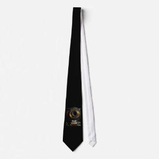 Lazo de la foto de la cámara del vintage corbata personalizada