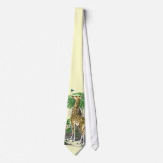Lazo de la jirafa corbata personalizada