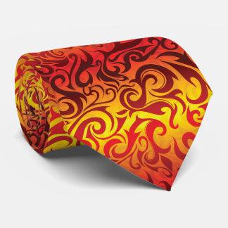 Lazo de la llama corbata personalizada
