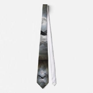 Lazo de la LUNA de la GARZA Corbatas Personalizadas