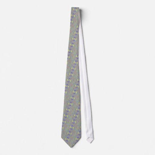 Lazo de la mandala corbatas personalizadas