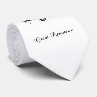 Lazo de la mirada fija de los Pirineos con el Corbata Personalizada