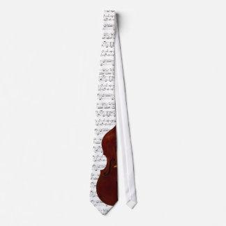 Lazo de la música del bajo doble - escoja su color corbatas