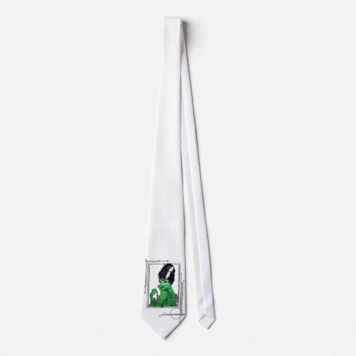 Lazo de la novia del art déco corbata personalizada