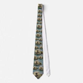 Lazo de la nutria corbatas personalizadas