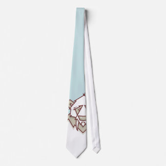 Lazo de la panda corbata personalizada