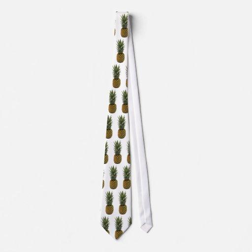 Lazo de la piña corbata personalizada