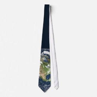 Lazo de la tierra del planeta corbata