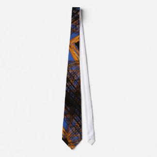 Lazo de la torre corbata personalizada