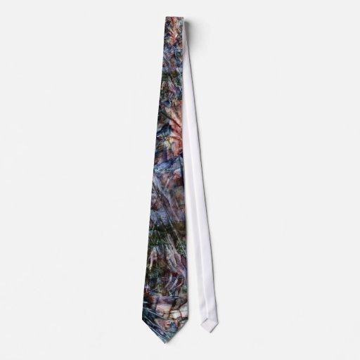 Lazo de las astillas del granito corbata personalizada