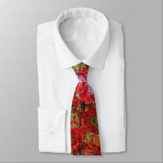 Lazo de las hojas de la caída de los hombres corbatas personalizadas
