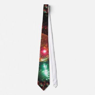 Lazo de las luces de navidad corbatas
