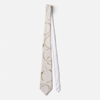 Lazo de las manchas de la taza de café de la corbata personalizada