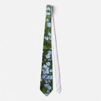 Lazo de las nomeolvides corbata personalizada