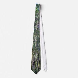 Lazo de los árboles de Aspen Corbata Personalizada
