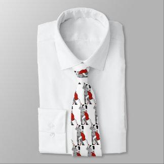 Lazo de los bailarines del tango corbatas personalizadas