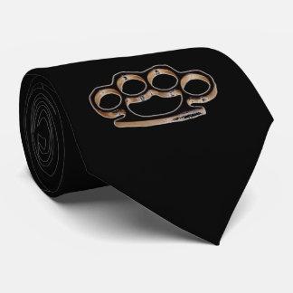 lazo de los brassknuckles corbatas personalizadas