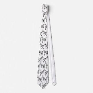 Lazo de los cuernos de Metalkat Corbata Personalizada
