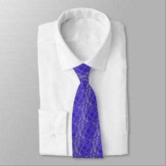 Lazo de los pétalos del añil corbatas
