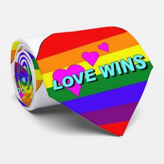Lazo de los triunfos del amor corbata personalizada