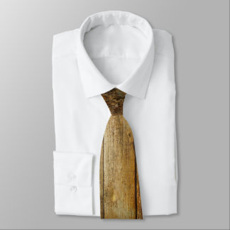 Lazo de madera oscuro corbata personalizada