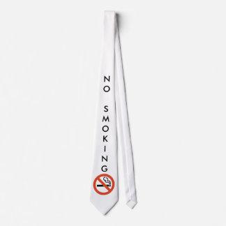 Lazo de no fumadores corbata personalizada