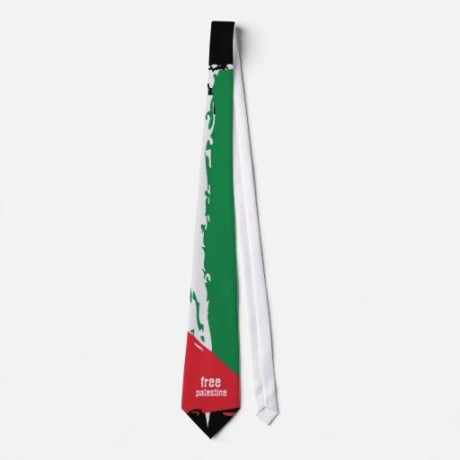 Lazo de Palestina - Palestina libre Corbata Personalizada