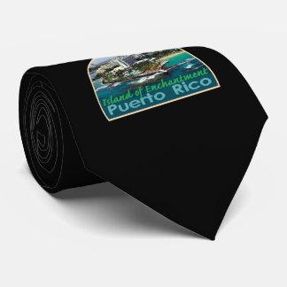 Lazo de PUERTO RICO Corbata Personalizada