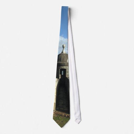 Lazo de Puerto Rico Garita Corbatas Personalizadas
